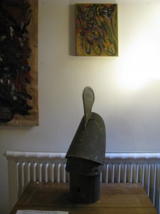 Rencontre entre un Ready Made, un radiateur et un tableau